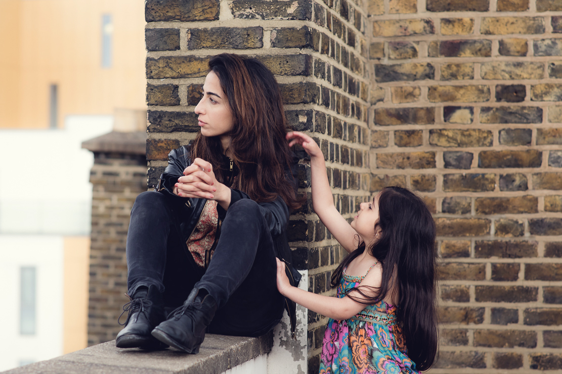 Elif Knight as Zoe and Olivia Anastasiades as Young Zoe
